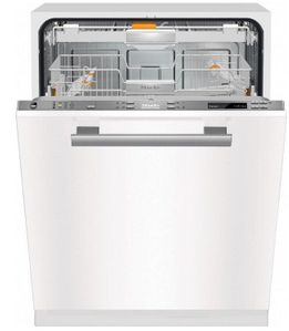 "PG8133SCVI240V 24"" Miele ProfiLine Series Built In  Dishwasher with AutoSensor Technology and Hydro Thermic Drying - 240V - Custom Panel"