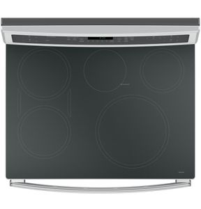 """PHB920SJSS GE Profile Series 30"""" Free-Standing Convection Range with Induction - Stainless Steel"""