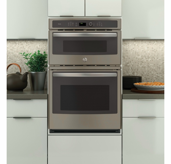 Combination Double Wall Oven Microwave
