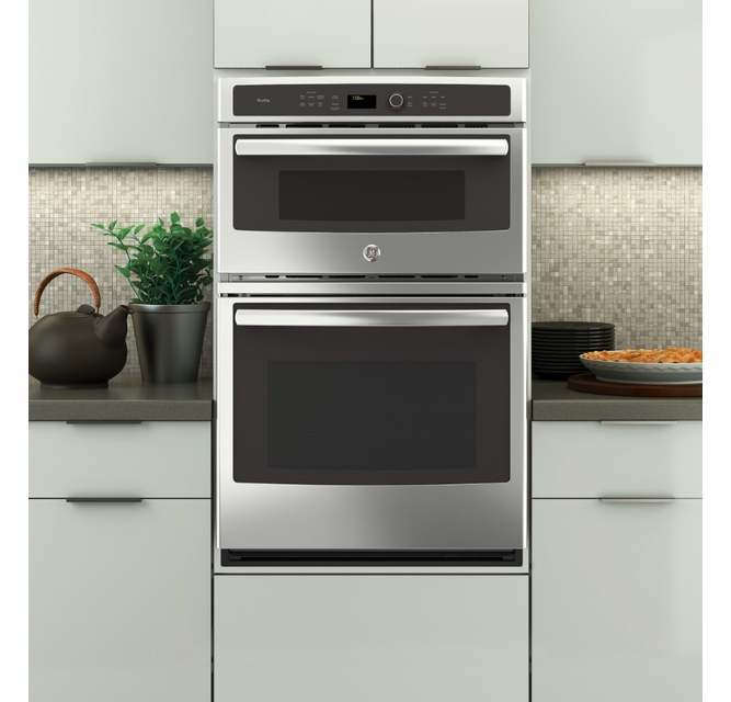 Pk7800skss Ge Profile 27 Built In Combination Double Wall Oven