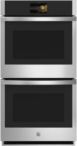 "PKD7000SNSS GE 27"" Profile Series Electric Built-In Double Wall Oven with True European Convection and Precision Temperature Probe - Stainless Steel"