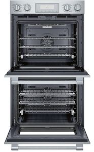 "PO302W Thermador 30"" Professional Double Built-In Oven with SoftClose Door - Stainless Steel with Professional Series Handles"