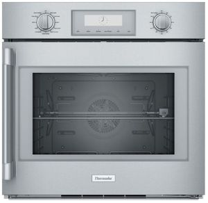 """POD301RW Thermador 30"""" Professional Single Built- In Oven  - Right Hinge - Stainless Steel with Professional Series Handle"""