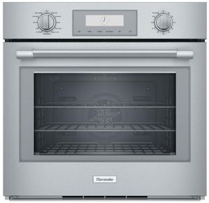 """POD301W Thermador 30"""" Professional Single Built-In Oven  - Stainless Steel with Professional Series Handle"""