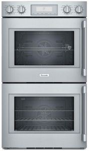 """POD302LW Thermador 30"""" Professional Double Built-In Oven - Left Hinge - Stainless Steel with Professional Series Handles"""