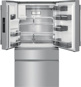 "PRMC2285AF Frigidaire Professional 36""  21.8 Cu. Ft. Counter Depth 4 Door French Door Refrigerator - Smudge Proof Resistant Stainless Steel"