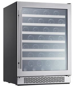 """PRW24C01BG Zephyr 24"""" Presrv Single Zone Wine Cooler with PreciseTemp and Active Cooling Technology - Stainless Steel"""