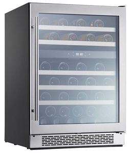 "PRW24C02BG Zephyr 24"" Presrv Dual Zone Wine Cooler with PreciseTemp and Active Cooling Technology - Stainless Steel"