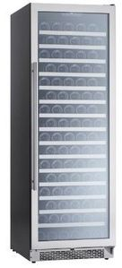 """PRW24F01AG Zephyr 24"""" Presrv Single Zone Wine Cooler with PreciseTemp and Active Cooling Technology - Stainless Steel"""