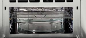 """PSB9240BLTS GE Profile Series Advantium 30"""" Wall Oven with 240V Speedcook Technology and Halogen Heat - Black Stainless Steel"""