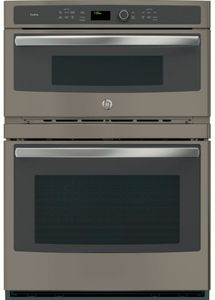 "PT7800EKES 30"" Profile Series Built-In Convection Oven/ Microwave With 1.7 cu. ft. Capacity and True European Convection - Slate"