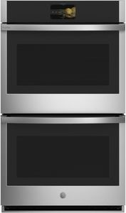 "PTD7000SNSS GE 30"" Profile Series Electric Built-In Double Wall Oven with True European Convection and Precision Cooking Modes - Stainless Steel"
