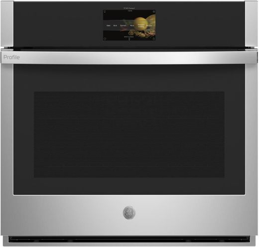 "PTS7000SNSS GE 30"" Profile Series Electric Built-In Single Wall Oven with True European Convection and Precision Cooking Modes - Stainless Steel"