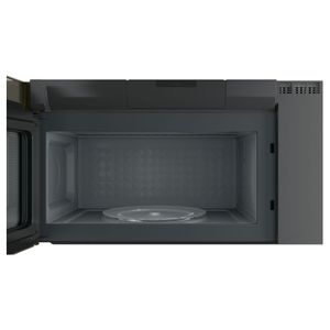 "PVM9005EJES GE 30"" Profile Series 2.1 Cu. Ft. Over-the-Range Sensor Microwave Oven - Slate"