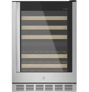 PWS06DSPSS GE Profile Wine Center with Dual Zone Temperature Control - Stainless Steel