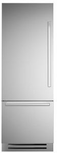 "REF30PIXL Bertazzoni 30"" Professional Series Left Hinge Built In Bottom Mount Refrigerator with FlexMode Control and Precise Temperature Control - Stainless Steel"