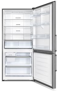"""REF31BMFIX Bertazzoni 31"""" Counter Depth Bottom Mount Refrigerator with Ice Maker and Surround Cooling System - Stainless Steel"""