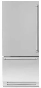 "REF36PIXL Bertazzoni 36"" Professional Series Left Hinge Built In Bottom Mount Refrigerator with FlexMode Control and Precise Temperature Control - Stainless Steel"
