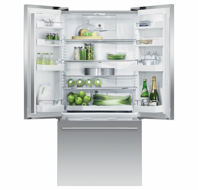 Rf170adjx4 Fisher Paykel 32 Series 7 Contemporary Counter Depth French Door Refrigerator With Internal Ice
