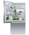 """RF170WDLJX5 Fisher & Paykel 32"""" Series 7 Contemporary Counter Depth Bottom Mount Refrigerator with Internal Ice Maker - Left Hinge - Stainless Steel"""