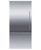"RF170WDLJX5 Fisher & Paykel 32"" Series 7 Contemporary Counter Depth Bottom Mount Refrigerator with Internal Ice Maker - Left Hinge - Stainless Steel"