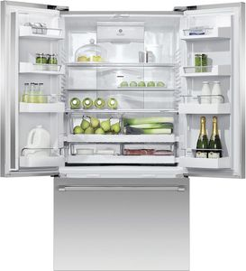 "RF201ACJSX1N Fisher & Paykel 36""  French Door Counter Depth Refrigerator with ActiveSmart Technology - Stainless Steel"