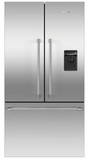 "RF201ACUSX1N Fisher & Paykel 36"" French Door Counter Depth Refrigerator with ActiveSmart Technology - Stainless Steel"