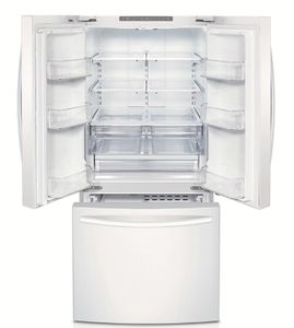 RF220NCTAWW Samsung 22 cu. ft. 30-Inch French Door Refrigerator - White