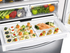 "RF23HCEDBSR Samsung 36"" 23 cu. ft. Counter Depth Capacity French Door Refrigerator with Twin Cooling - Stainless Steel"