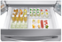 """RF24R7201SR Samsung 36"""" Counter Depth 4 Door Refrigerator with FlexZone and  Twin Cooling Plus - Stainless Steel"""