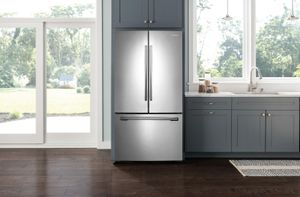 "RF261BEAESR Samsung 36"" French Door Refrigerator with Twin Cooling Plus and Cool Select Pantry - Stainless Steel"