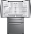"""RF28R7201SR Samsung 36"""" 4 Door Refrigerator with  Twin Cooling Plus and EZ-Open"""