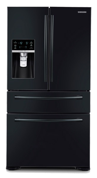 Rf31fmedbbc Samsung 31 Cu Ft 4 Door Refrigerator With