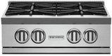 "RGTNB244BV2N BlueStar 24"" Natural Gas Rangetop - 4 Burners - Stainless Steel"