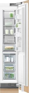 """RS1884FRJ1 Fisher & Paykel 18"""" Integrated Column Freezer with ActiveSmart Foodcare and White Interior - Right Hinge  - Custom Panel"""