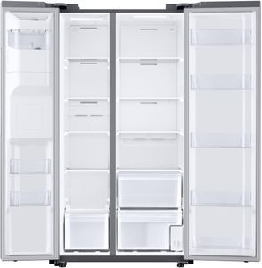 """RS22T5201SR Samsung 36"""" 22 cu. ft. Capacity WiFi Enabled Side by Side Counter Depth Refrigerator with Ice Maker - Fingerprint ResistantStainless Steel"""
