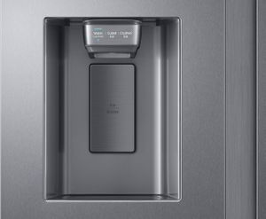 """RS27T5200SR Samsung 36"""" 27.4 cu. ft. Large Capacity Side by Side Refrigerator with Ice Maker - Fingerprint Resistant Stainless Steel"""