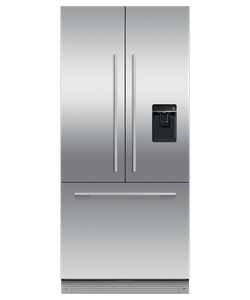 """RS32A72U1 Fisher & Paykel 32"""" Series 7 Integrated Counter Depth French Door Refrigerator with Ice Maker and Water Dispenser - Custom Panel"""