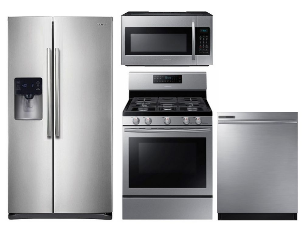 Package S2 Samsung Appliance Package 4 Piece Appliance