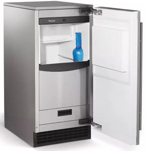 SCCG30MA1SU Scotsman Brilliance Automatic Ice Machine with Gravity Drain - Stainless Steel Cabinet/Panel Required