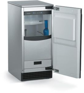 SCCG50MB1SS Scotsman Brilliance Automatic Outdoor Ice Machine with Gravity Drain - Stainless Steel
