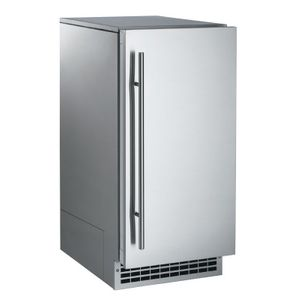 SCN60GA1SS Scotsman Brilliance Nugget Ice Machine with Gravity Drain - Stainless Steel