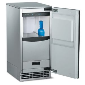 SCN60PA1SS Scotsman Brilliance Nugget Ice Machine with Drain Pump - Stainless Steel