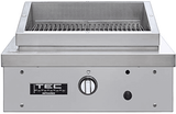 "SEAR1NT TEC 26""Natural Gas Searmaster Hoodless Sideburner with 304 Stainless Steel Construction and Hoodless Infrared grill/side burner - Stainless Steel"