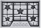 """SGSX305TS Thermador 30"""" Masterpiece Gas Cooktop with 5 Star Burners and ExtraLow Select - Stainless Steel"""