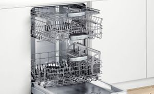 "SHX87PZ55N Bosch  24"" Benchmark Series Top Control 42 dBa Dishwasher with MyWay Rack and CrystalDry Technology - Bar Handle - Stainless Steel"