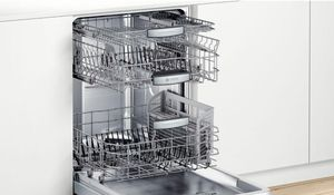 """SHXM88Z75N Bosch  24"""" 800 Series Top Control Dishwasher 40dBa with MyWay Rack and AquaStop Leak Protection - Stainless Steel with Bar Handle"""
