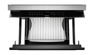 """SMD2499FS Sharp 24"""" Built In Smart Convection Microwave Drawer Oven - Stainless Steel"""