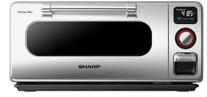 """SSC0586DS Sharp 20"""" Superheated Steam Countertop Oven with Instant On and Broiling Pan - Stainless Steel"""