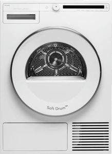 """T208HW Asko 24"""" Classic Series Heat Pump Dryer with Soft Drum Technology and Butterfly Drying System - White"""
